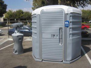 portable toilets rental