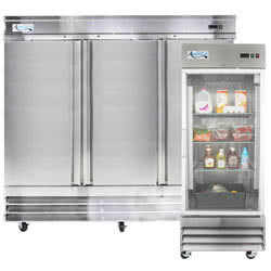 Industrial refrigerators through the internet
